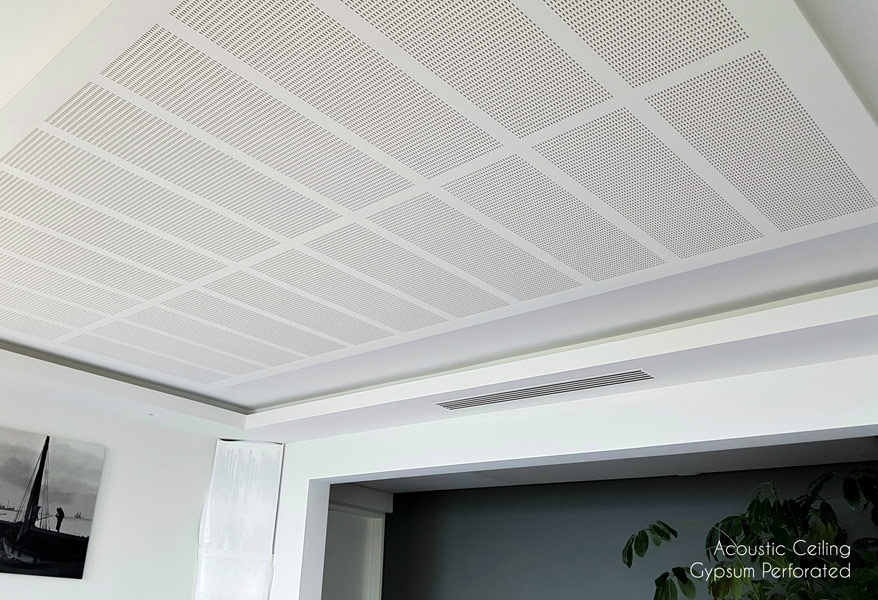Acoustic Seiling Gupsum Perforated