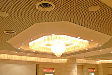 Metal Aluminium Ceiling Open Cell System