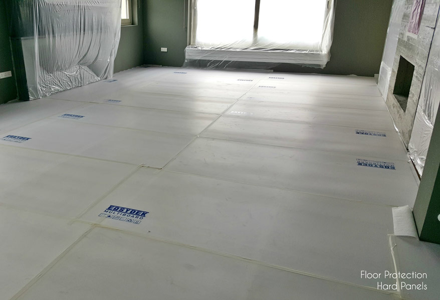 Floor Protection Hard Panels