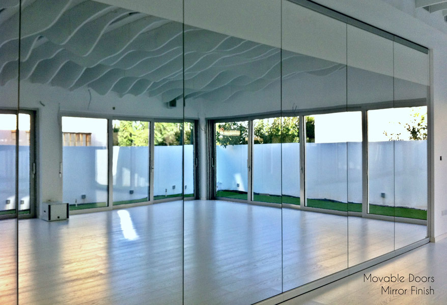Movable Doors - Mirror Finish
