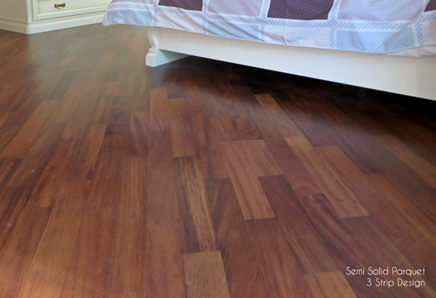 Semi Solid Parquet 3 Strip Design