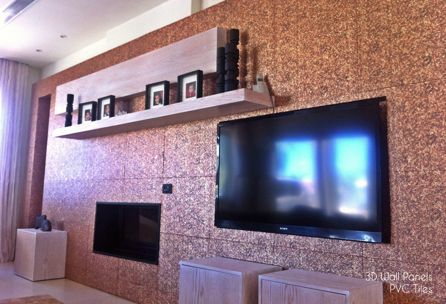 3D Wall Panels PVC Tiles